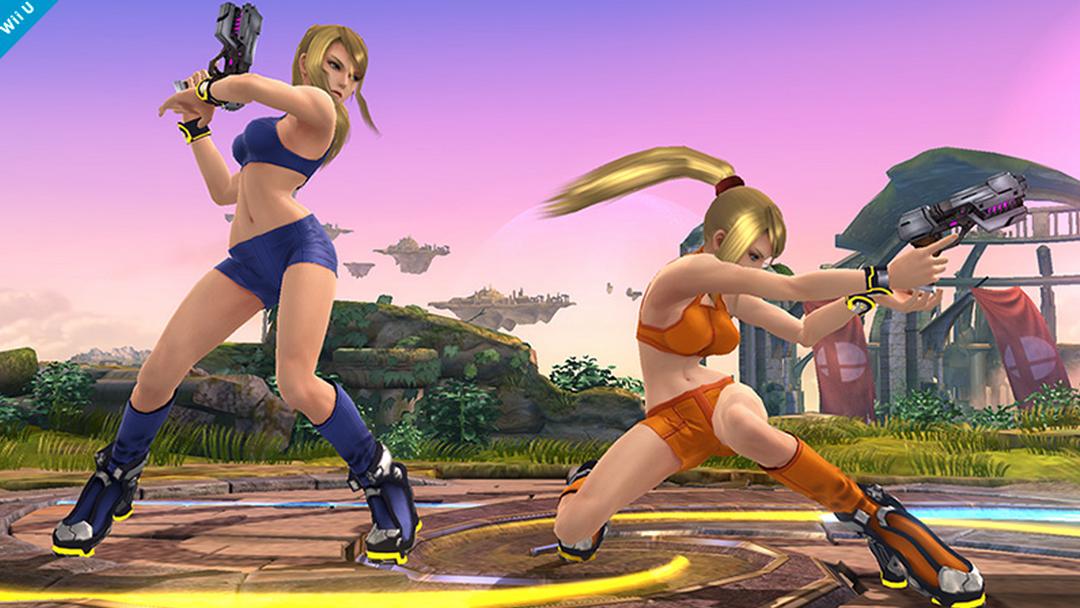 Il nuovo costume di Samus per Super Smash Bros.: PLEASE UNDERBOOBS