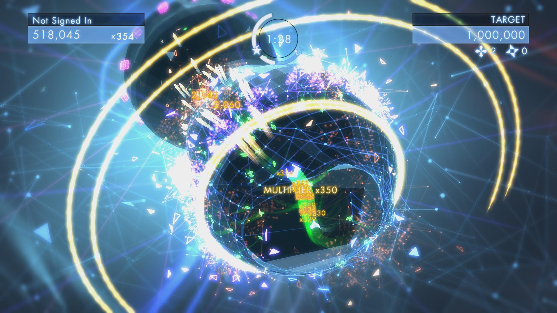 Prime immagini per Geometry Wars 3: Dimensions