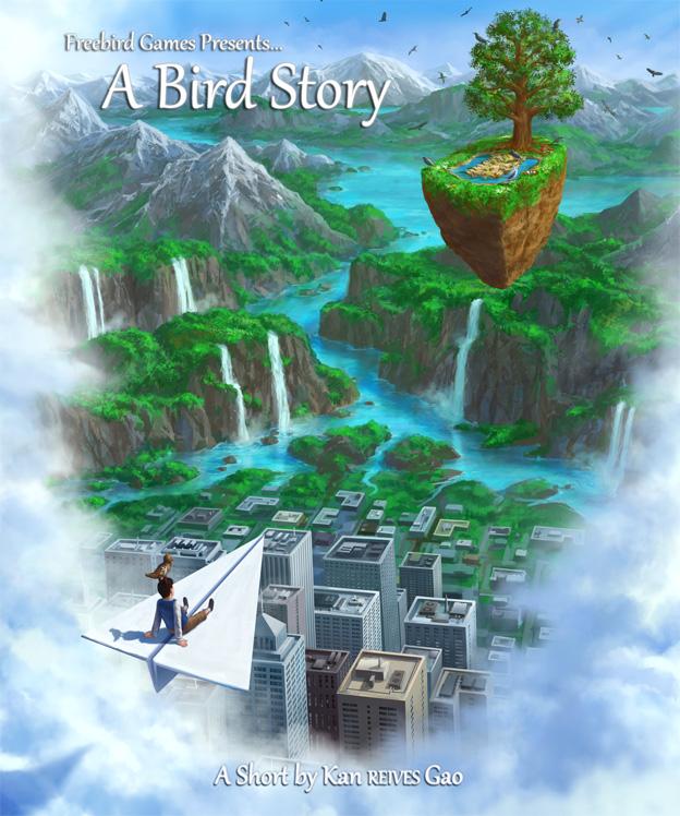 La storia di un uccello, non è un porno ma il seguito di To the Moon!