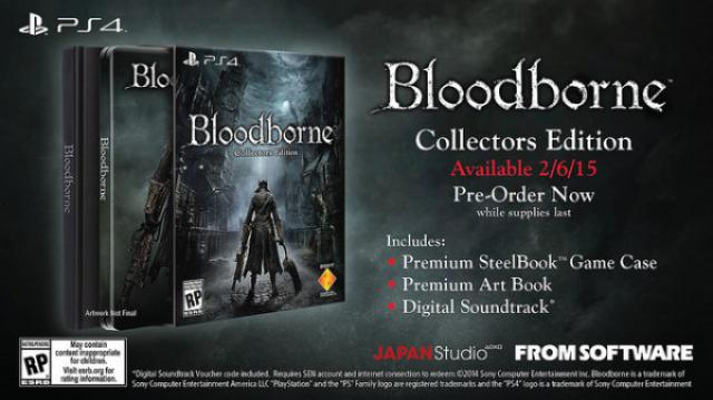 Annunciata data di uscita occidentale di Bloodborne e svelata la limited edition