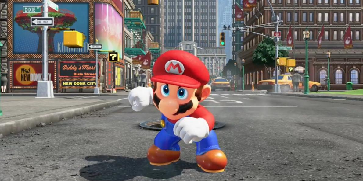 Super Mario porno gioco grandi mangiatori di figa