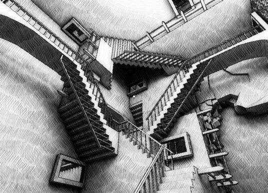 #VG: Fragments of Euclid, un labirinto escheriano approvato da #TAGLIAFERRI.IT